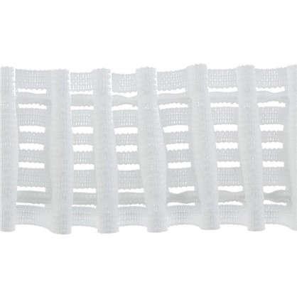 Шторная лента параллельная 42 мм цвет белый