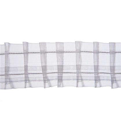 Шторная лента Placido с карандашными складками 50 мм цвет прозрачный