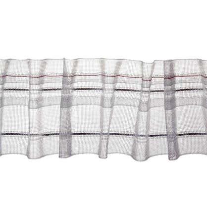 Купить Шторная лента Placido с карандашными складками 50 мм полиэстер цвет прозрачный дешевле