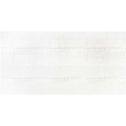 Шторная лента Sofia универсальная 50 мм полиэстер цвет белый