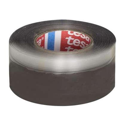 Купить Лента силиконовая Tesa Экстренный ремонт 19 мм 2.5 м цвет чёрный дешевле