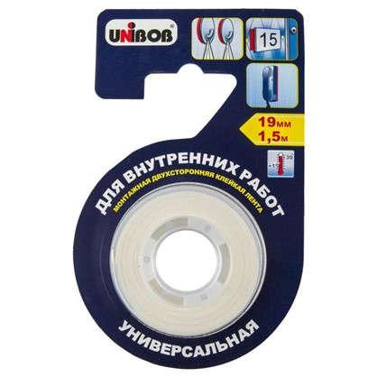 Лента универсальная для внутренних работ Unibob 19 мм х 1.5 м
