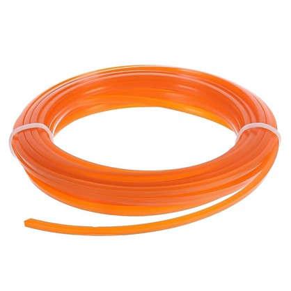 Леска для триммера Sterwins 3 мм х 7 м квадратная цвет оранжевый