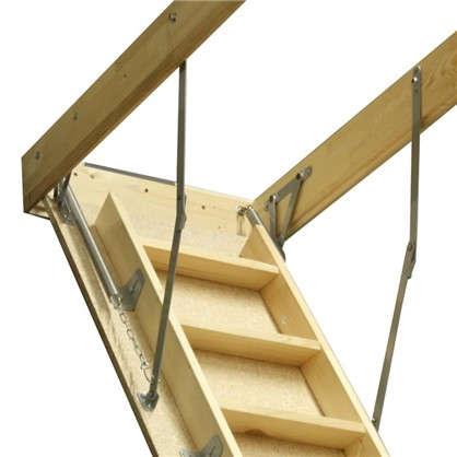 Лестница чердачная 120х60x280 см