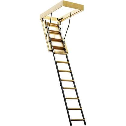 Купить Лестница чердачная комбинированная 60x120х280 см дешевле