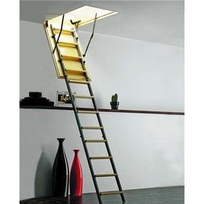 Купить Лестница чердачная комбинированная 70х80x265 см дешевле