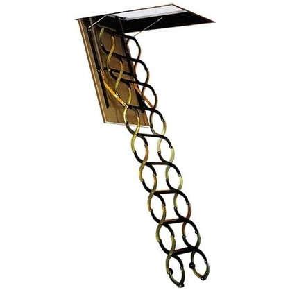 Лестница чердачная Nozycowe 70x80x280 см