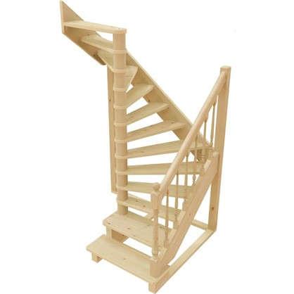 Лестница поворотная на 180° ЛС-04У универсальная