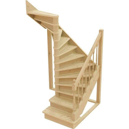Лестница поворотная на 180° ЛС-05 универсальная