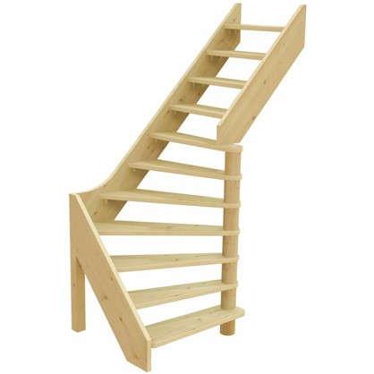 Лестница поворотная на 90° ЛС-92 универсальная