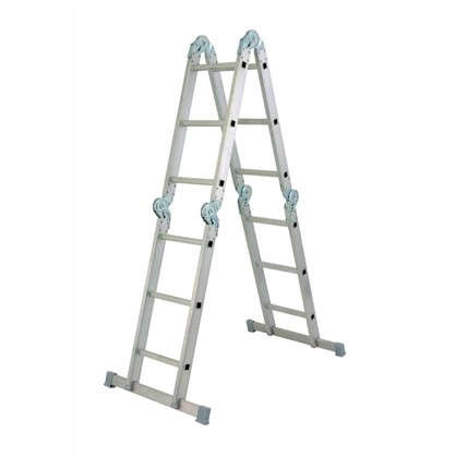 Лестница-трансформер 4 секции по 3 ступени