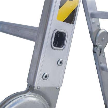 Купить Лестница-трансформер 4 секции по 5 ступеней дешевле
