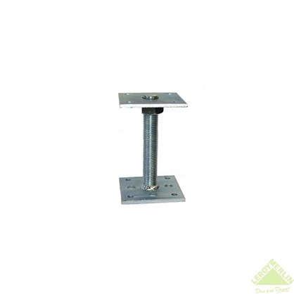 Купить Лифт регулировочный со шпилькой М24 Н150 100х100х6 мм сталь дешевле