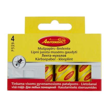Купить Липкая лента от мух Aeroxon 4 шт. дешевле
