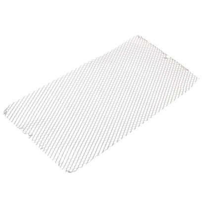 Лист декоративный ПВЛ TR10 0.8х500х1000 мм алюминий