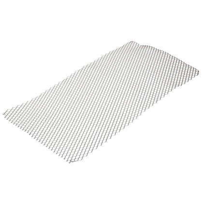 Лист декоративный ПВЛ TR16 0.8х500х1000 мм алюминий