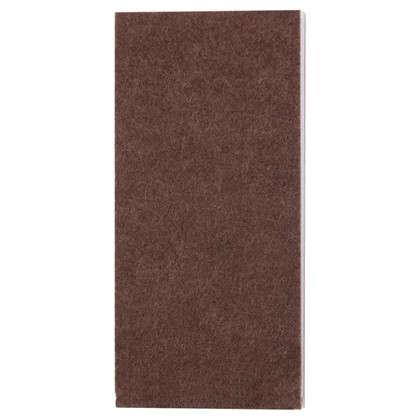 Купить Лист фетра Standers 1000x85 мм прямоугольные войлок цвет коричневый дешевле