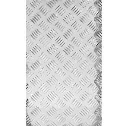 Лист рифленый АМг2 1.5х300х1200 мм алюминий