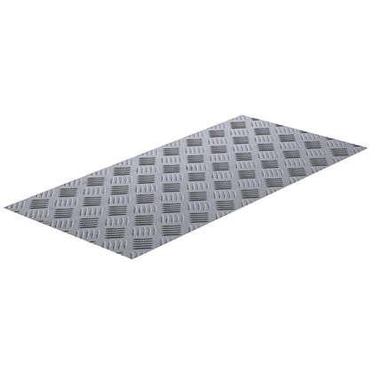 Купить Лист рифленый АМг2 1.5х300х600 мм алюминий дешевле