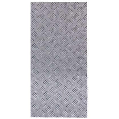 Лист рифленый АМг2 1.5х300х600 мм алюминий