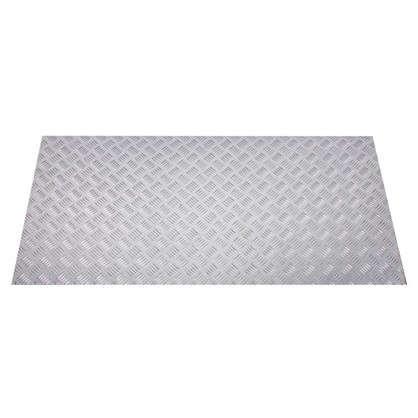 Лист рифленый АМг2 1.5х600х1200 мм алюминий