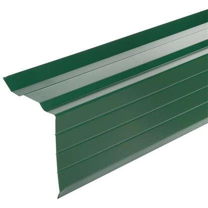 Купить Лист ветровой с полиэстеровым покрытием 2 м цвет зелёный дешевле