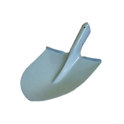 Лопата для работы с почвой изогнутая тулейка 36 см металл без черенка