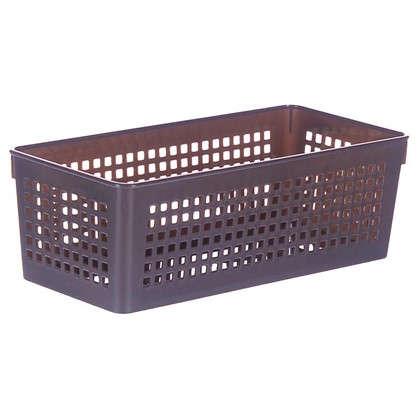 Купить Лоток 270х130х90 мм 2.4 л цвет коричневый дешевле