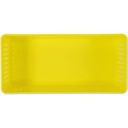 Лоток 270х130х90 мм 2.4 л полипропилен цвет желтый