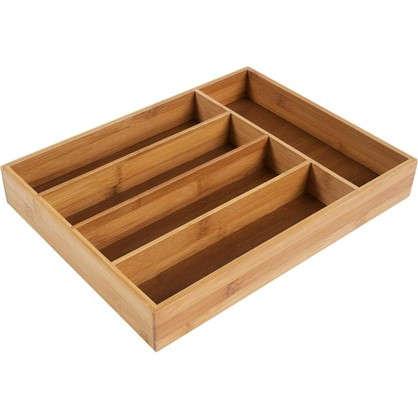 Лоток для ящика 5 отделений цвет дерево