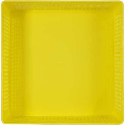 Купить Лоток с крышкой 310х310х90 мм 7.3 л полипропилен цвет желтый дешевле