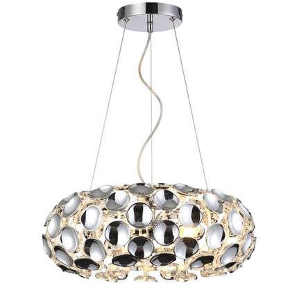 Люстра подвесная Mosca L1096-3PL 3 лампы 12 м² цвет хром