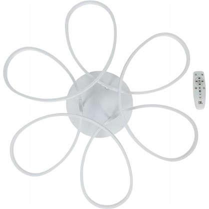 Люстра потолочная светодиодная Ember 120 Вт цвет белый