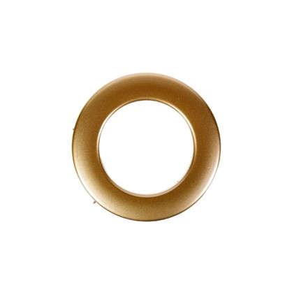 Люверсы 35 мм цвет матовое золото 10 шт.