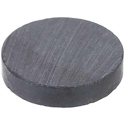 Магнит 15 мм ЛДСП цвет черный