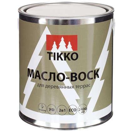 Масло для наружных работ Tikko цвет тик 2.4 л