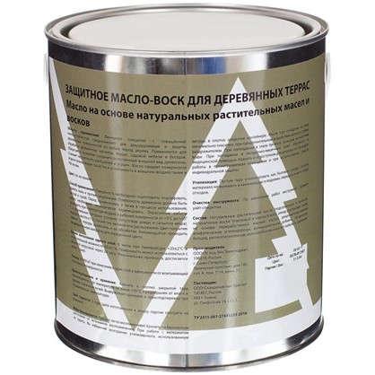 Масло для наружных работ Tikko цвет золотой дуб 2.4 л