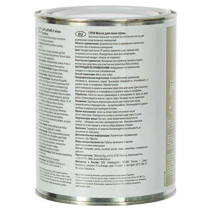 Масло для пола Tikkurila Supi Laudesuoja бесцветная 0.9 л