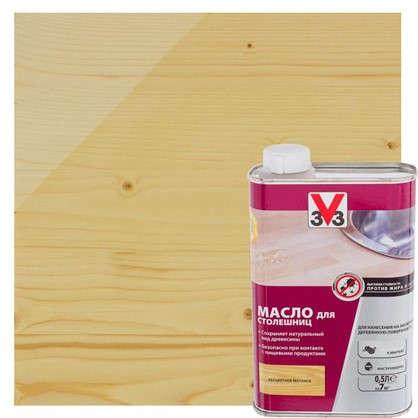 Купить Масло для столешниц V33 бесцветный 0.5 л дешевле