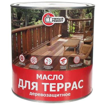 Масло для террас Умный Ремонт 25 л Снежный барс