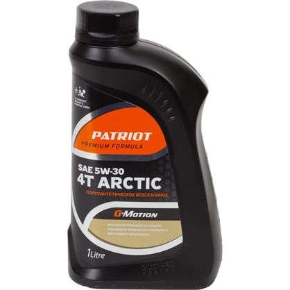Масло моторное для четырехтактных двигателей G-motion Arctic полусинтетическое 1 л