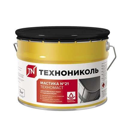 Мастика кровельная Технониколь №21 (Техномаст) 3 кг