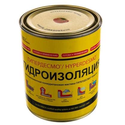Купить Мастика полиуретановая Alchimica Гипердесмо Классик 1 кг цвет красный дешевле