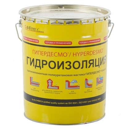 Купить Мастика полиуретановая Alchimica Гипердесмо Классик 25 кг цвет красный дешевле