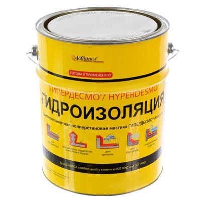 Купить Мастика полиуретановая Alchimica Гипердесмо Классик 6 кг цвет белый дешевле