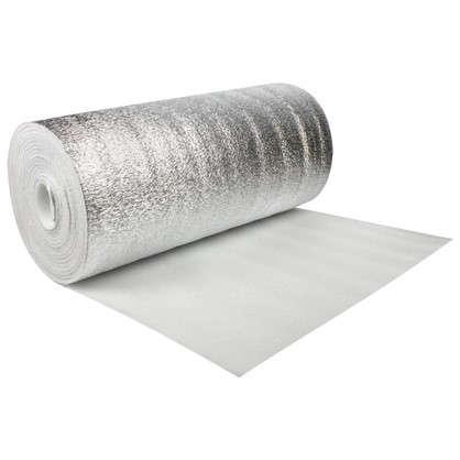 Материал изоляционный 10 мм ВПЭ/фольга 15 м2