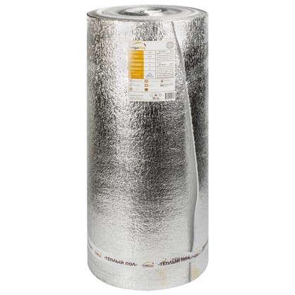 Материал изоляционный 5 мм ВПЭ/фольга 25 м2