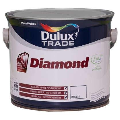 Матовая краска для стен Dulux Trade Diamond 2.5 л