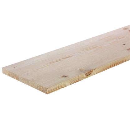 Мебельный щит 1200х200х18 мм хвоя сорт В