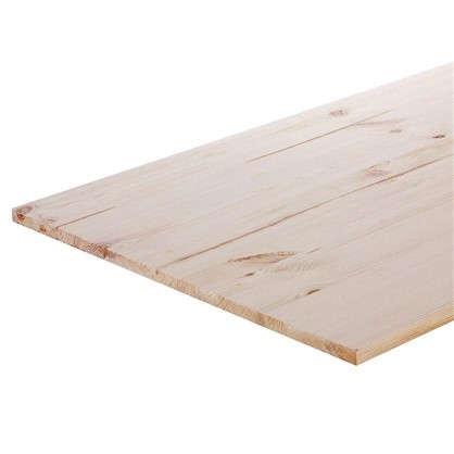 Мебельный щит 1200х600х18 мм хвоя сорт A/B